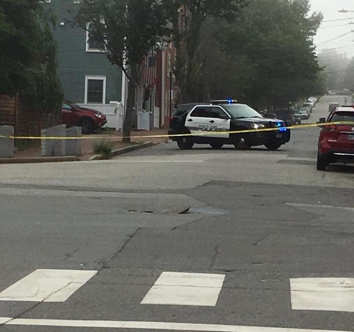 An underground explosion prompted police to shut down parts of Center, York and Fore streets in Portland on Tuesday afternoon.