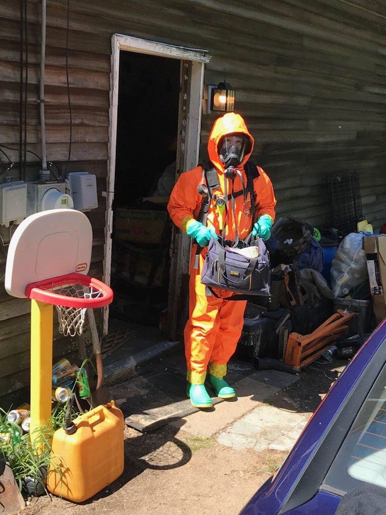 Maine State Police say they seized multiple one-pot meth labs and chemicals used to make meth at a Hollis home on Thursday.