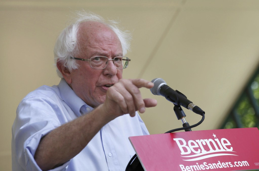 """Taxpayers should not be """"subsidizing the wealthiest people in this country who are paying their workers inadequate wages,"""" says U.S. Sen. Bernie Sanders, a Vermont independent."""