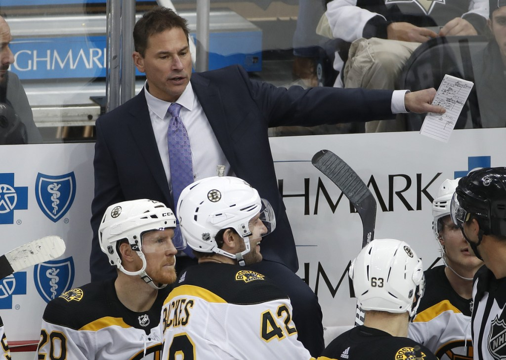 Bruins Coach Bruce Cassidy will have half his team with him for two exhibition games against Calgary in China. He's hoping the team can make the most of the trip, on and off the ice.