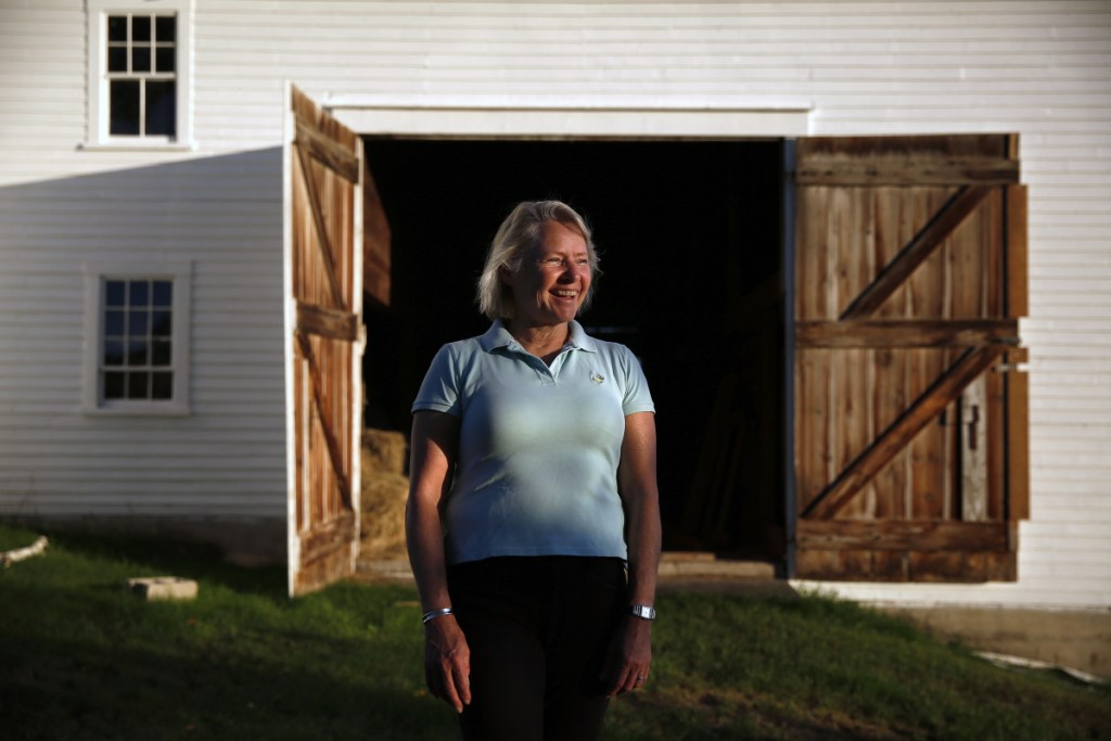 Technically, Susan Thornton is a federal employee until Sept. 30 and still traveling back and forth to the nation's capital. After that, she's officially a farmer, albeit one who admits she has a lot to learn about making things grow on the big spread in Lisbon.