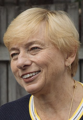 SOUTH PORTLAND, MAINE - SEPTEMBER 8: Attorney General and Democratic Gubernatorial candidate Janet Mills poses for a portrait during a campaign stop in South Portland, Saturday, September 8, 2018. (Photo by Gabe Souza/Staff Photographer)