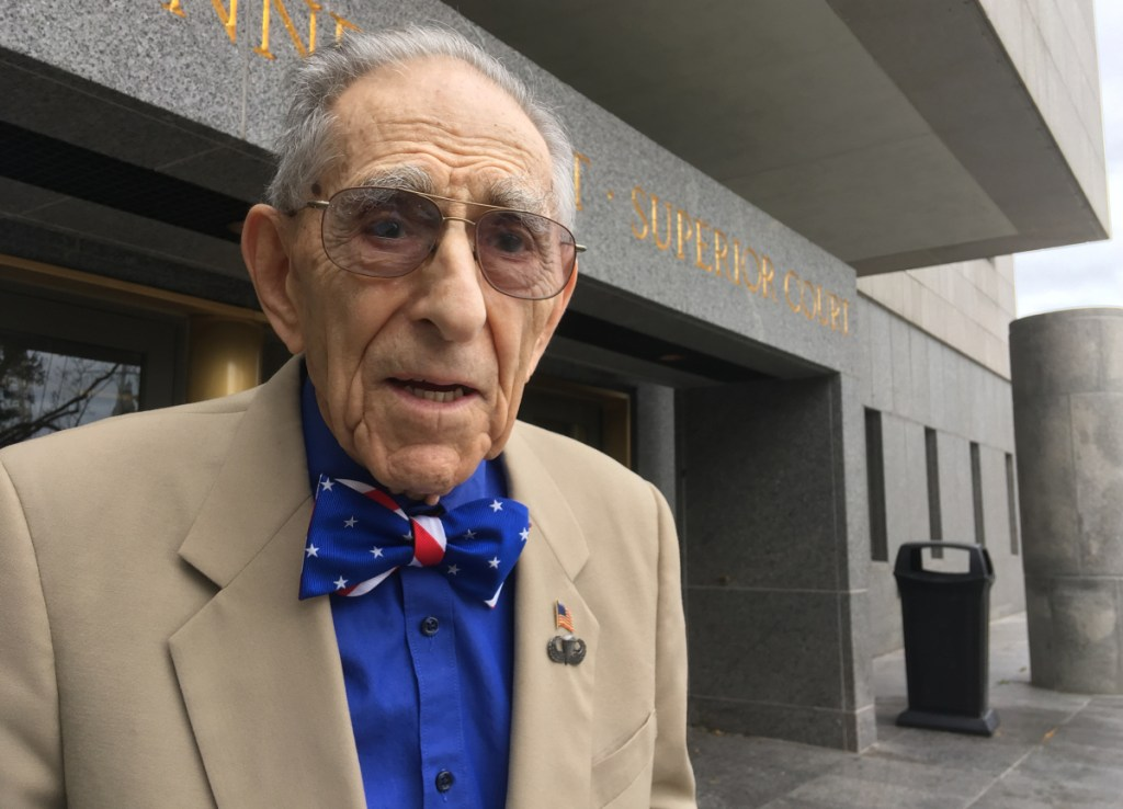 """Morton Katz works as a special public defender and says he has no plans to retire. """"There are frustrations to beat all hell,"""" he says, """"but I like what I'm doing."""""""