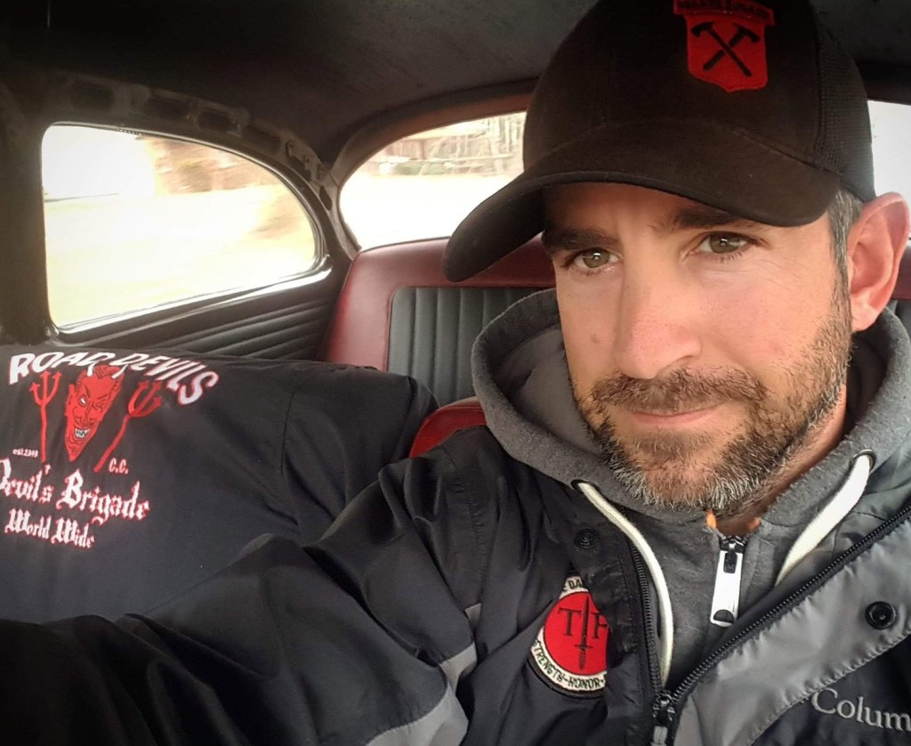 """Geoff Dardia of Kennebunkport, who is on active duty with the Army in North Carolina, doesn't live close to the ocean but says he's """"packed up and ready to get out"""" because of the threat of river flooding."""