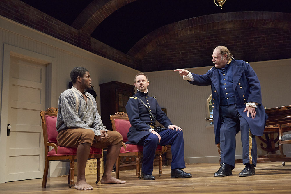 Cornelius Davidson as Shepard Mallory, Michael Dix Thomas as Lieutenant Kelly and Ron Orbach as Ben Butler.