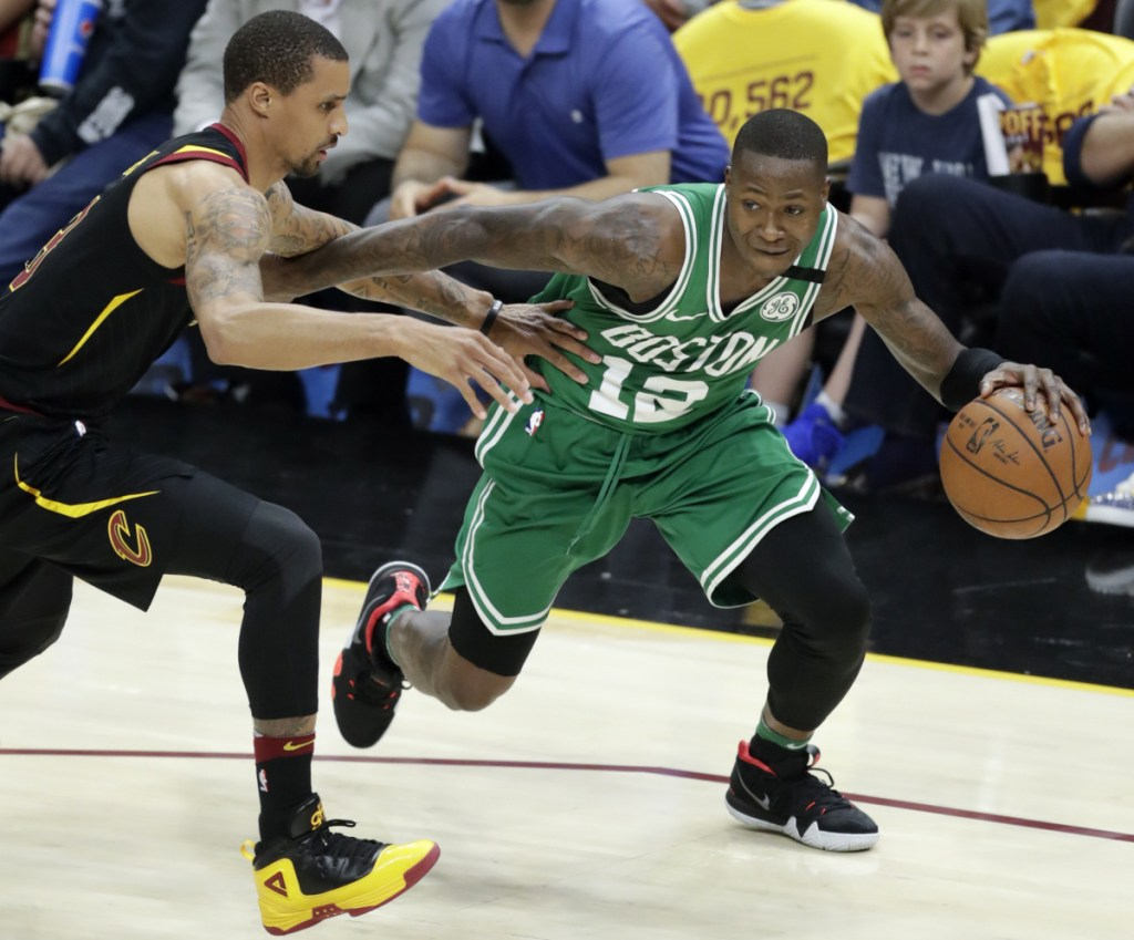 """Terry Rozier became a starter late last season for the Celtics when Kyrie Irving was injured, but now he's back to being a bench player, where he enters to try to """"change the game."""""""