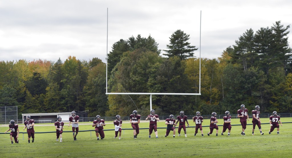 The Greely football team dresses just 18 or 19 players per game, but continues to win. After losing their opener to Noble, the Rangers then beat Mt. Blue, Cape Elizabeth and Westbrook.