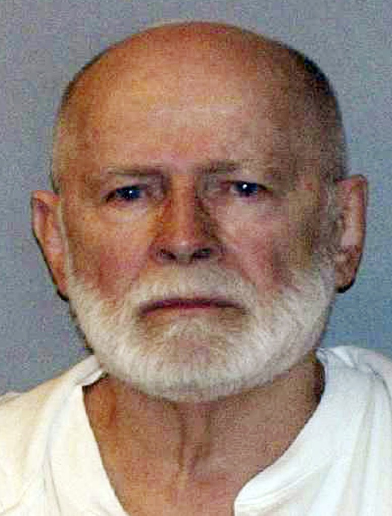 "James ""Whitey"" Bulger, seen in his booking photo on June 23, 2011."