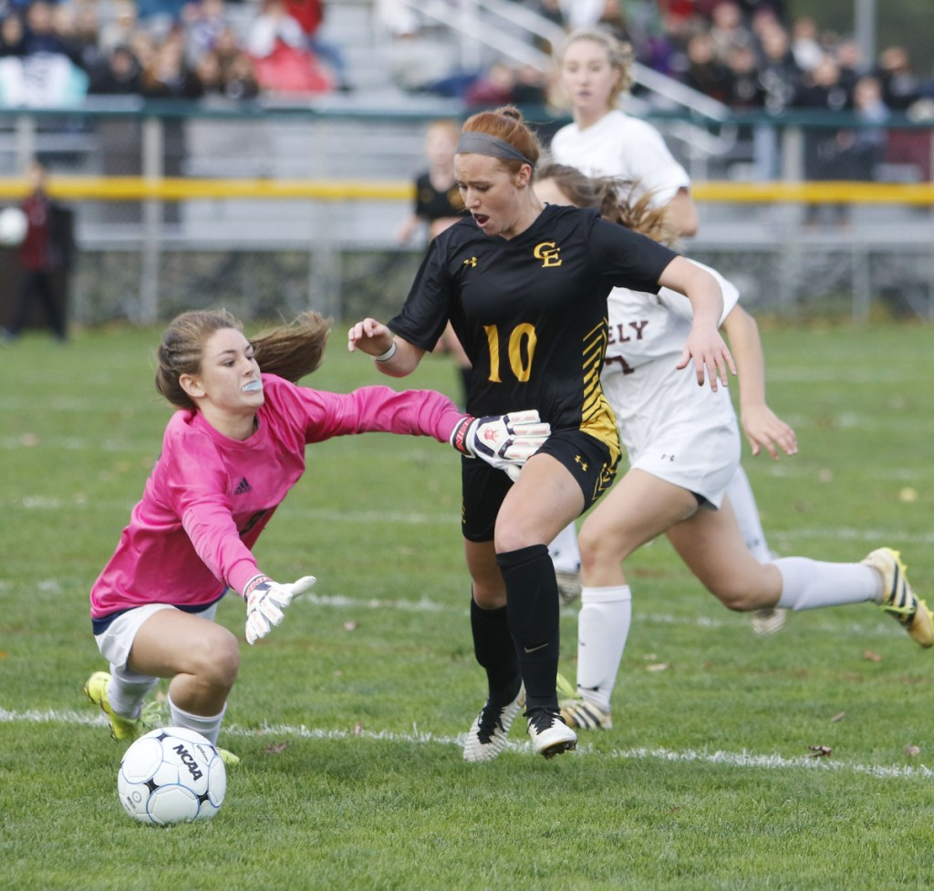Prezli Piscopo, 10, has been a force for the Cape Elizabeth girls – one of the three soccer teams in the state with perfect records – head to the Class B final against Presque Isle at Hampden.