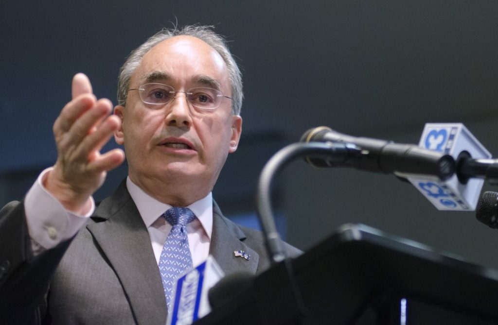 Rep. Bruce Poliquin filed a request for a recount in the 2nd Congressional District election on Monday afternoon, just hours before the deadline passed.