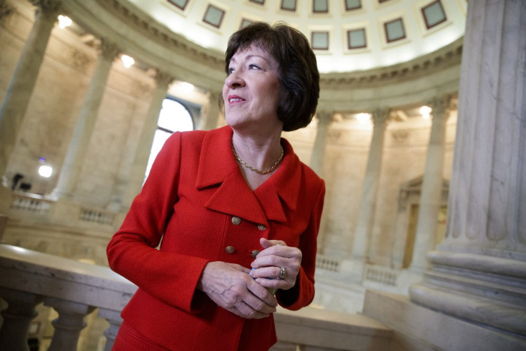Maine Sen. Susan Collins has been unwilling to take effective action to protect the Mueller probe, a reader says.