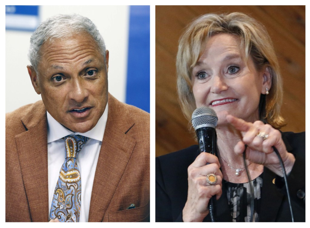 """Mike Espy, a former congressman and U.S. agriculture secretary, challenged Republican Sen. Cindy Hyde-Smith in Mississippi's runoff election Tuesday. Hyde-Smith's """"public hanging"""" comments angered many people but didn't keep her from holding on to her seat."""