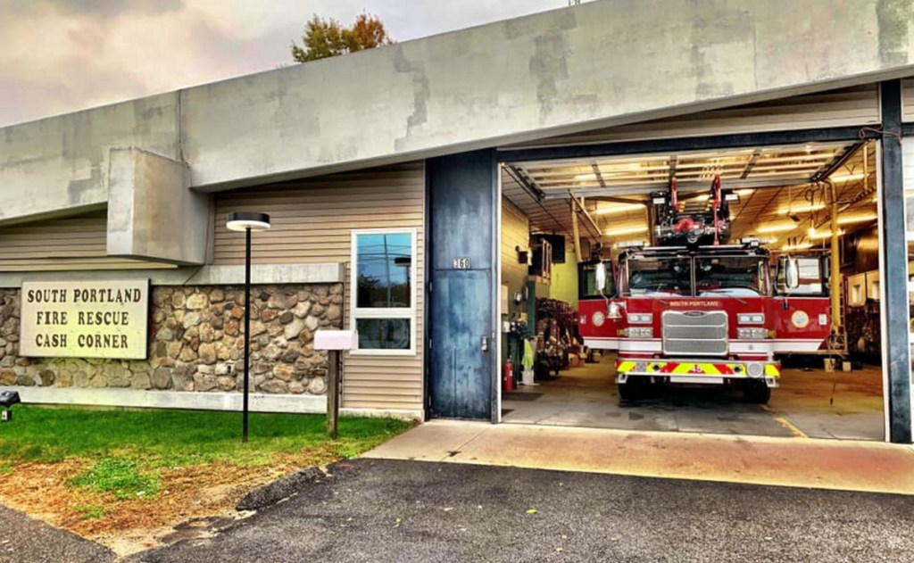 The South Portland Fire Department's new ladder truck has sat idle since it was damaged in an Oct. 30 training exercise, when its ladder touched power lines.