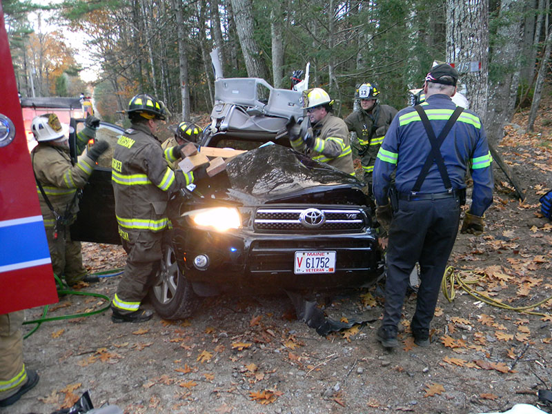 Teen airlifted to Maine Med after Harrison car crash - Portland