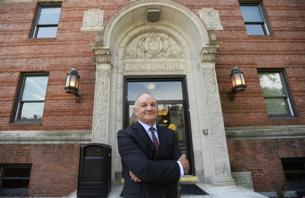 CEO Charlie Therrien and other Mercy Hospital officials will spend the upcoming weeks sifting through proposals for the historic State Street facility.