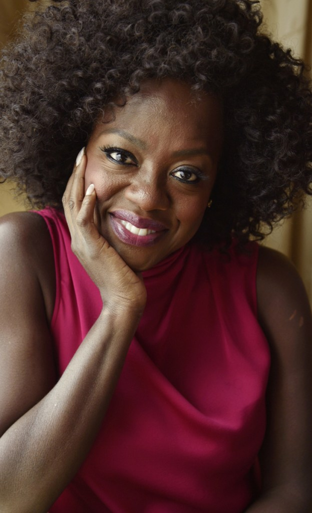 Viola Davis spoke to a rapt crowd of power players at the Women in Entertainment breakfast Wednesday.