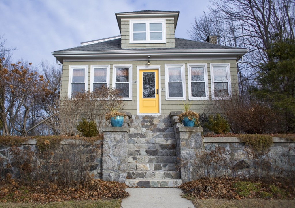 This home at 180 Preble St. was a short-term rental in 2018. Councilors have hired a company to monitor the rentals in 2019, when new rules take effect.