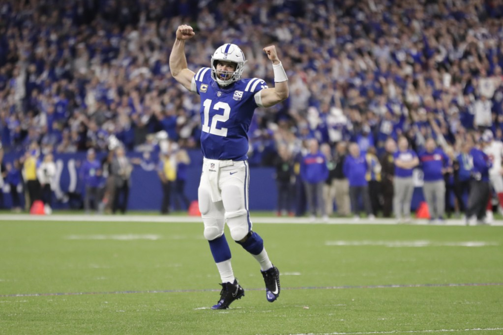 Indianapolis quarterback Andrew Luck has so much talent and is playing near the top of his game – one reason why the Colts may just pull off an upset or two when the playoffs arrive.