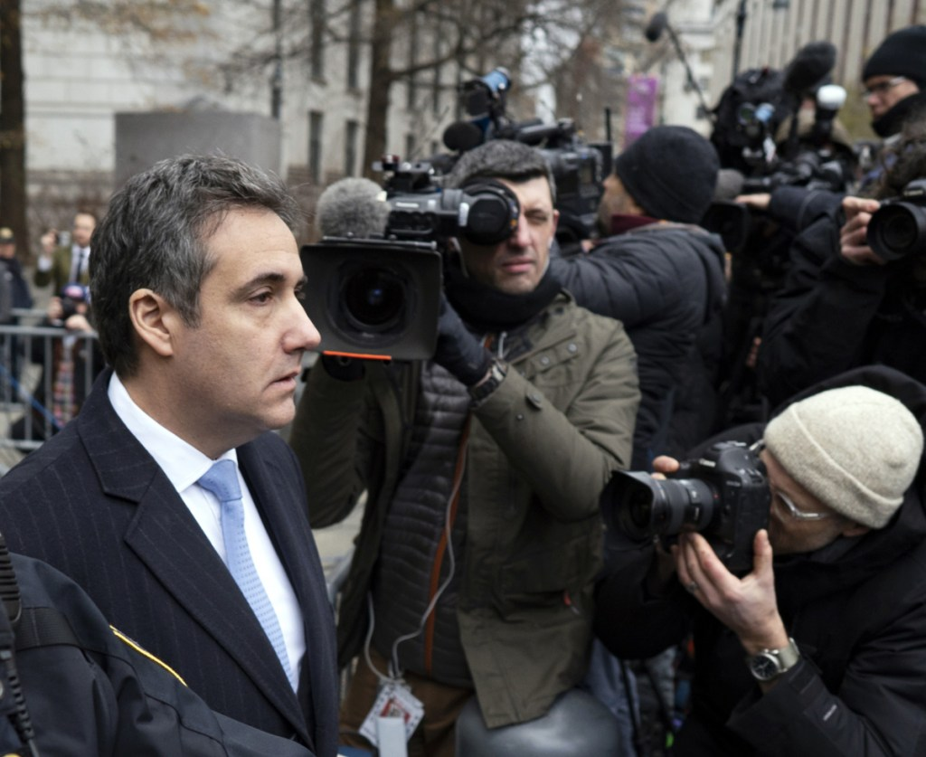New electronic data support claims that Michael Cohen, President Trump's former lawyer, secretly met with Russian officials in the summer of 2016.
