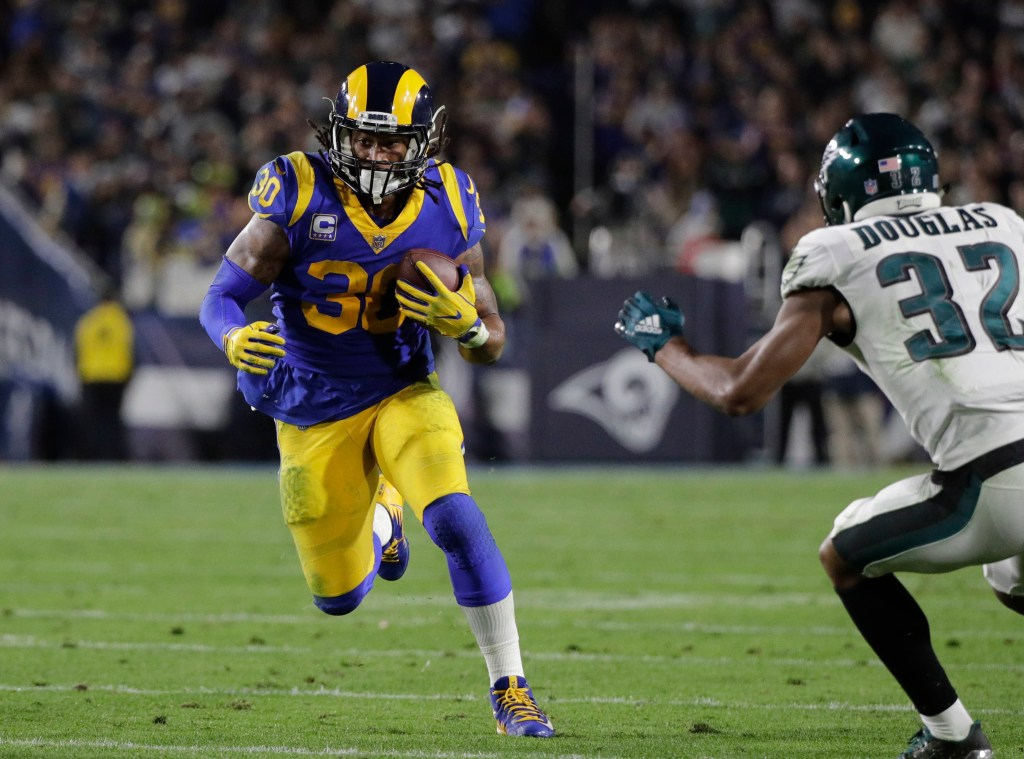 The Los Angeles Rams have a chance to wrap up the No. 1 seed in the NFC but will be without running back Todd Gurley in their final regular season game.