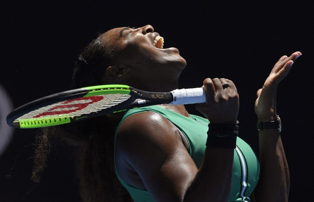 Serena Williams hasn't won a Grand Slam event since returning from pregnancy, leaving her one title short of Margaret Court's record of 24.