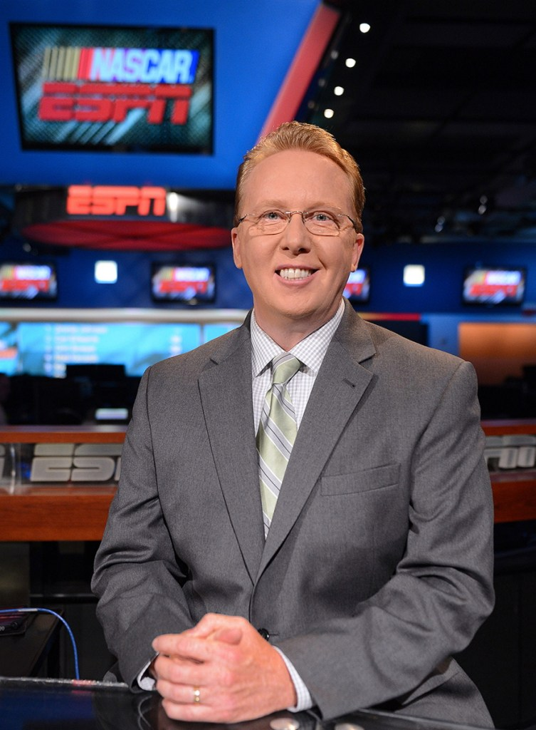 Maine native Ricky Craven had worked as an auto racing analyst with ESPN for 12 years. (Photo by Rich Arden/ESPN Images)
