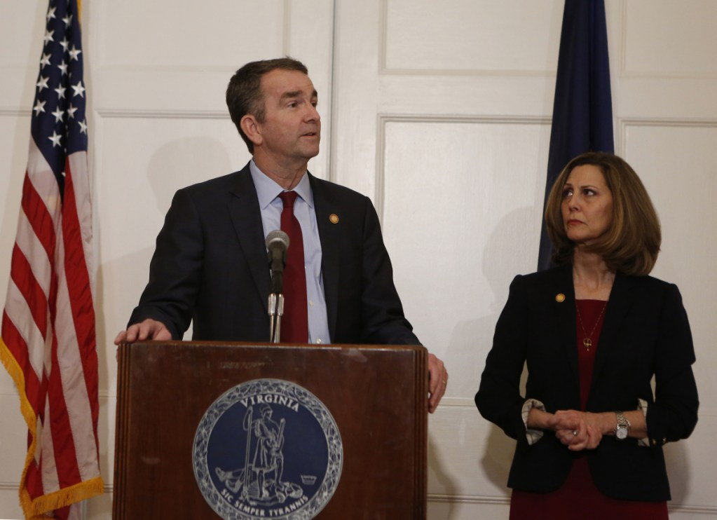 """Virginia Gov. Ralph Northam appeared on """"Face the Nation"""" Sunday to defend his ability to lead the state and said there is no better person to help it heal than a doctor."""