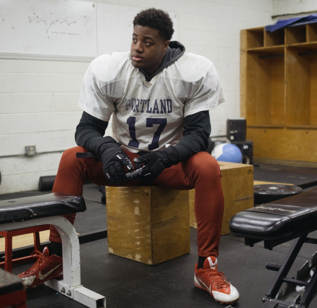 Portland High's Nathan Kapongo has made a verbal commitment to play at the University of New Hampshire, though he has yet to sign a national letter of intent.