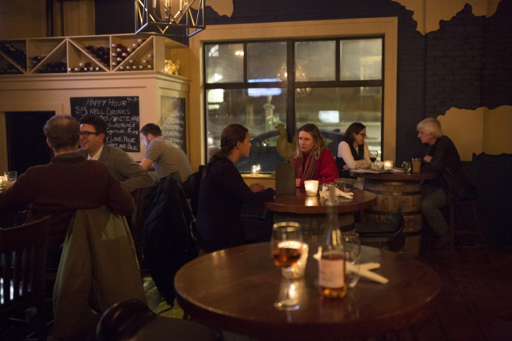 At Little Tap House in Portland, customers are treated to an all-night happy hour whenever the city calls a parking ban.