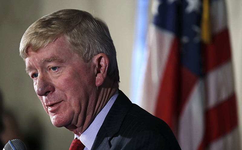 Former Massachusetts Gov. William Weld is running as a Republican in the 2020 election.