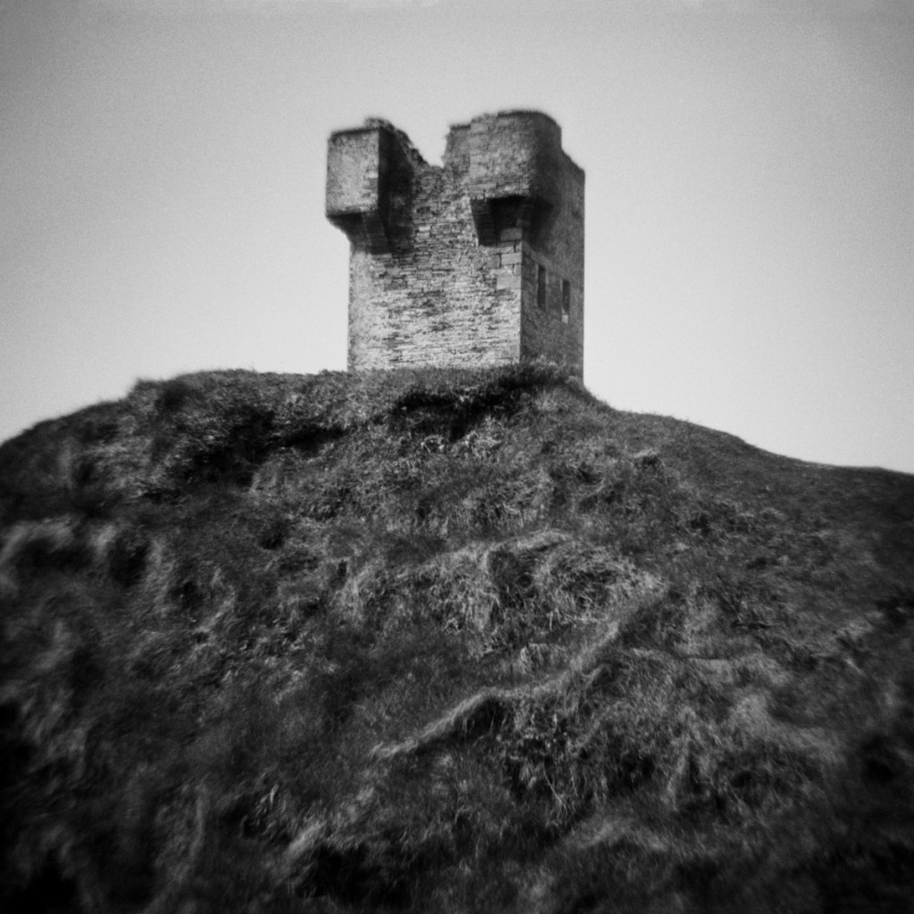 Untitled (cliff tower)