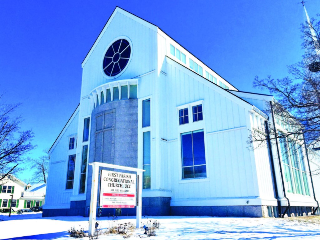 First Parish Congregational Church, UCC in Saco is hosting a drive-thru prayer day Saturday in conjunction with World Prayer Day.