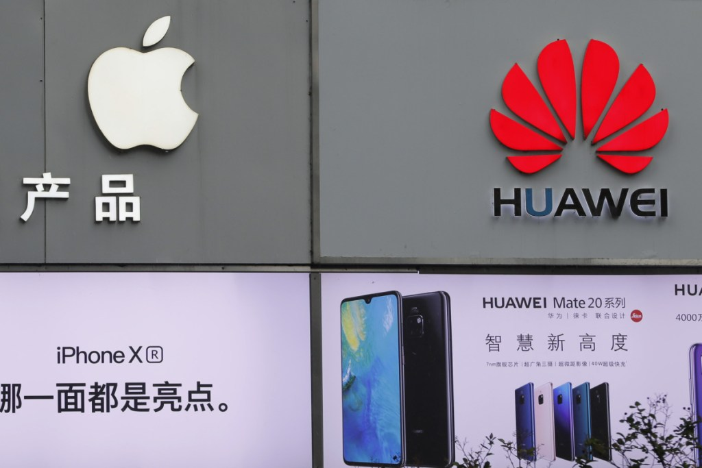 Chinese tech giant Huawei says U.S. claims that its technolgy is a security risk are unfounded. Associated Press/Kin Cheung