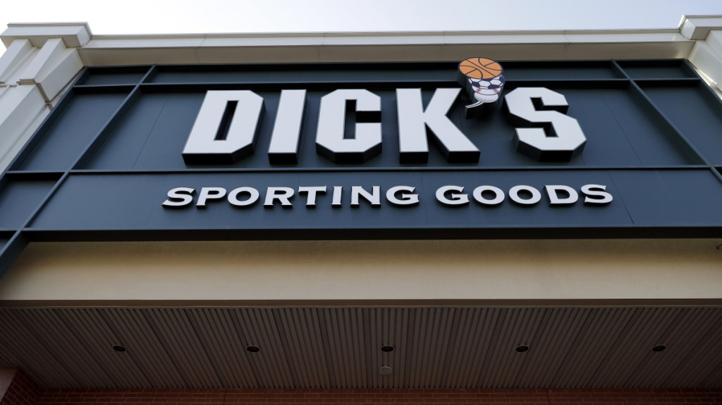 Dick's Sporting Goods tightened its gun policies after last year's Parkland, Fla., school shooting, refusing to sell assault-style rifles.