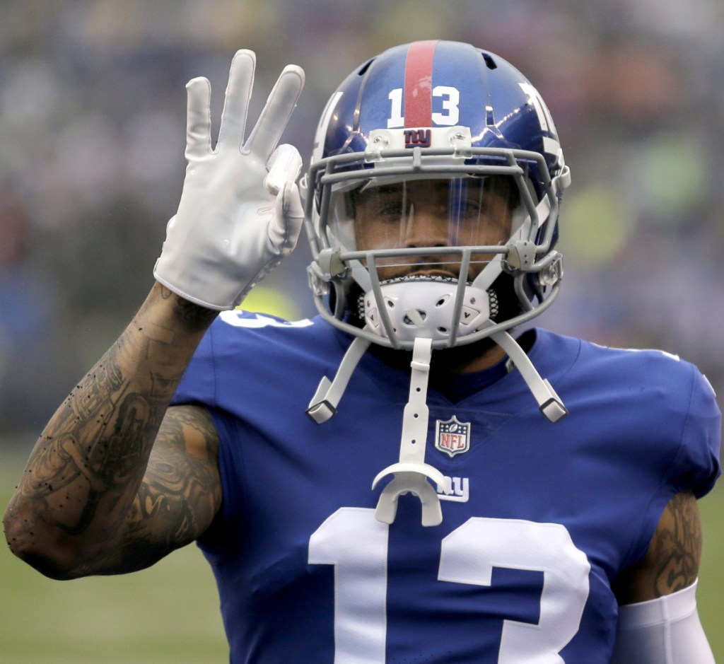 Wide receiver Odell Beckham Jr. will no longer wear the blue of the New York Giants after getting traded to the Cleveland Browns, a key acquisition for a team that is on the rise after going 0-16 two seasons ago.