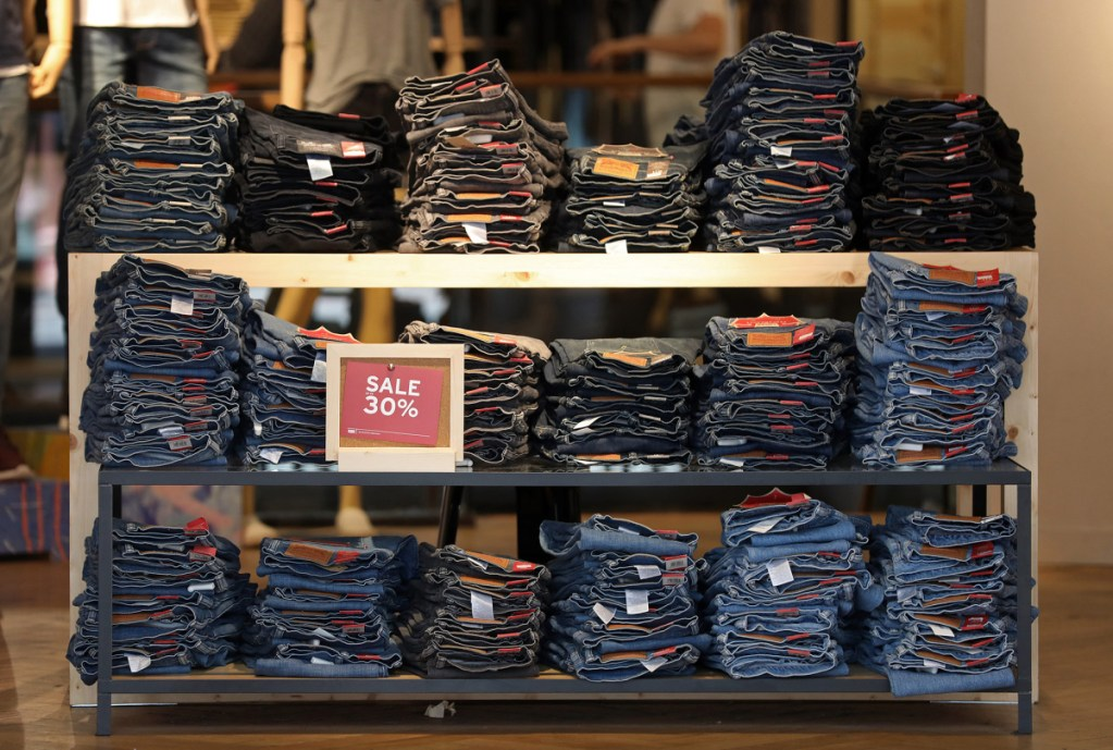 Levi Strauss & Co. has had its ups and downs, but its blue jeans have remained popular throughout the years. Bloomberg/Christ Ratcliffe