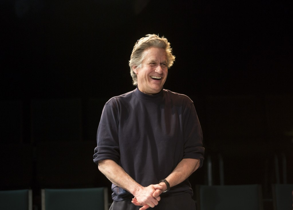 """Whip Hubley, a movie actor best known for his role in """"Top Gun,"""" appears in the play """"We Can Eat Love,"""" which will be showing at Portland Stage Studio Theater from March 22-31."""