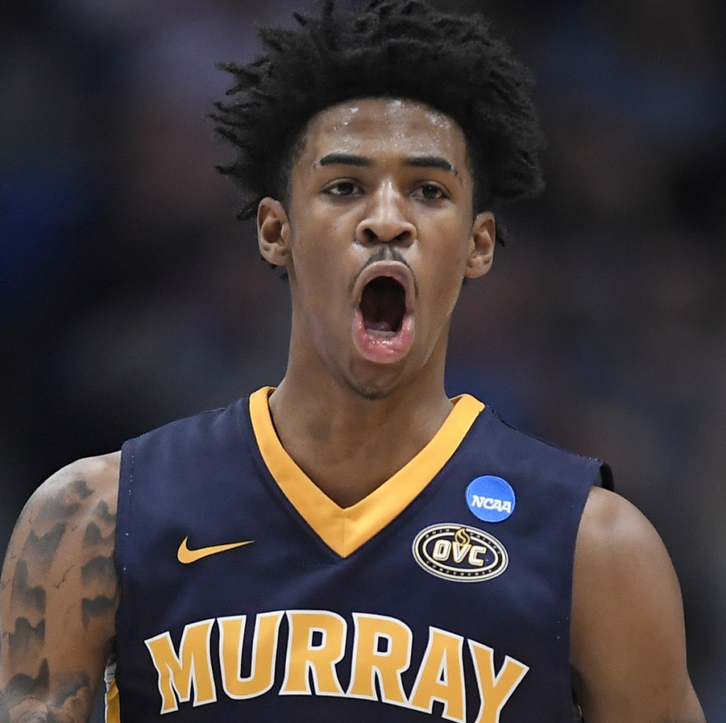 Murray State's Ja Morant came as advertised Thursday, posting the 17th triple-double in NCAA tournament history in a first-round upset of Marquette.