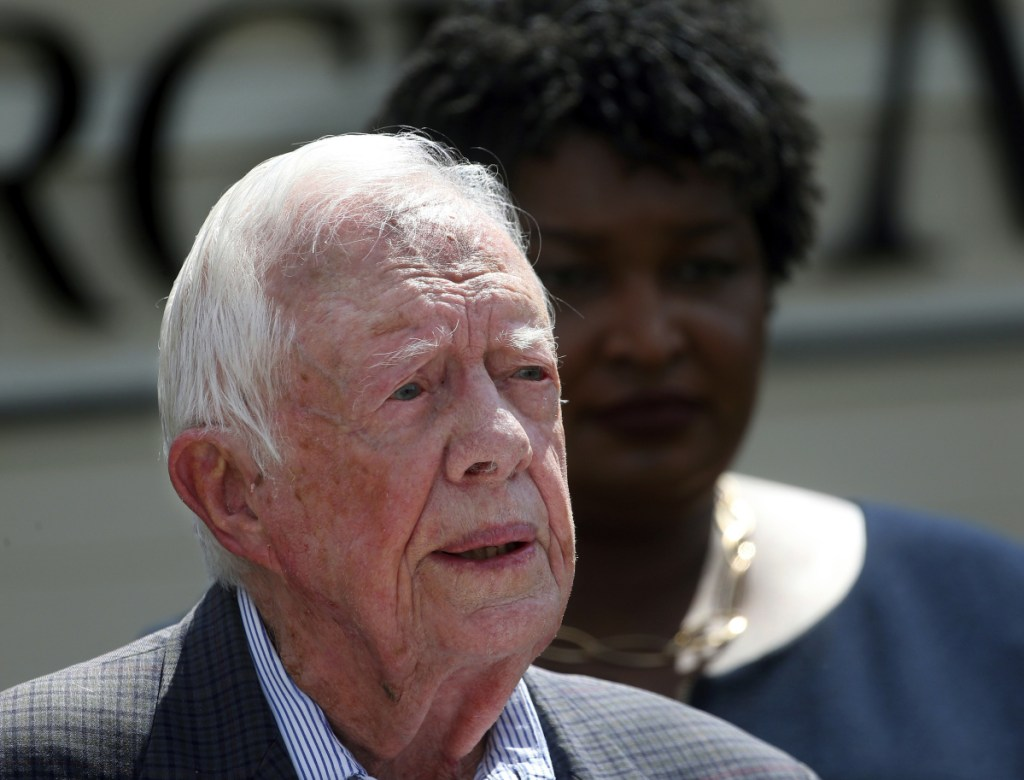 Former President Jimmy Carter is now the longest-living president in American history. On Friday, the 39th president reached the age of 94 years, 172 days – one day beyond the lifespan of George H.W. Bush, who died in November.