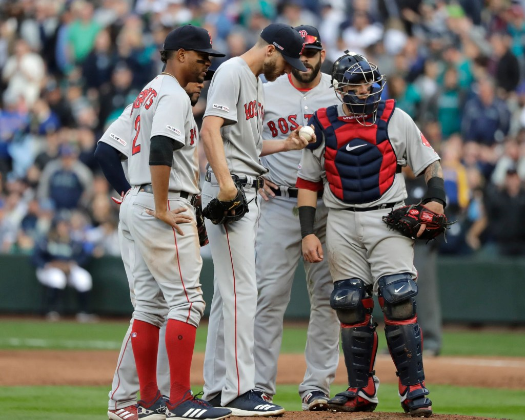 Chris Sale's Opening Day start did nothing but raise more questions about the shoulder discomfort that slowed the Red Sox ace in the second half of last season.