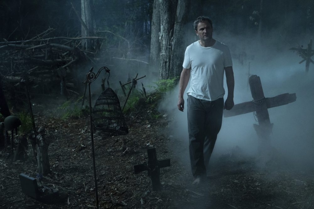 """This image released by Paramount Pictures shows Jason Clarke in a scene from """"Pet Sematary."""""""