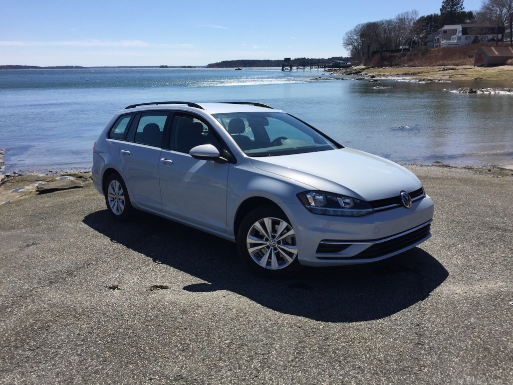 """""""The VW Golf is the absolute value leader in a small, but important, class."""" Photo by Tim Plouff. Location: Falmouth Town Landing."""