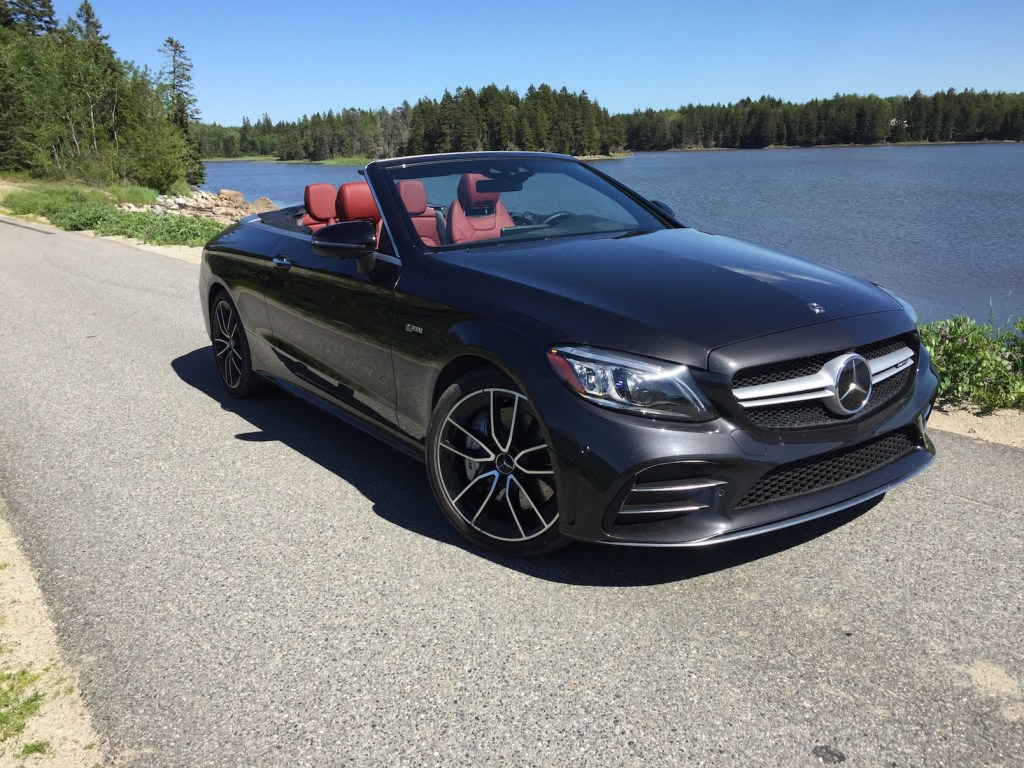 On the Road Review: Mercedes-Benz C43 AMG Cabriolet - Portland Press
