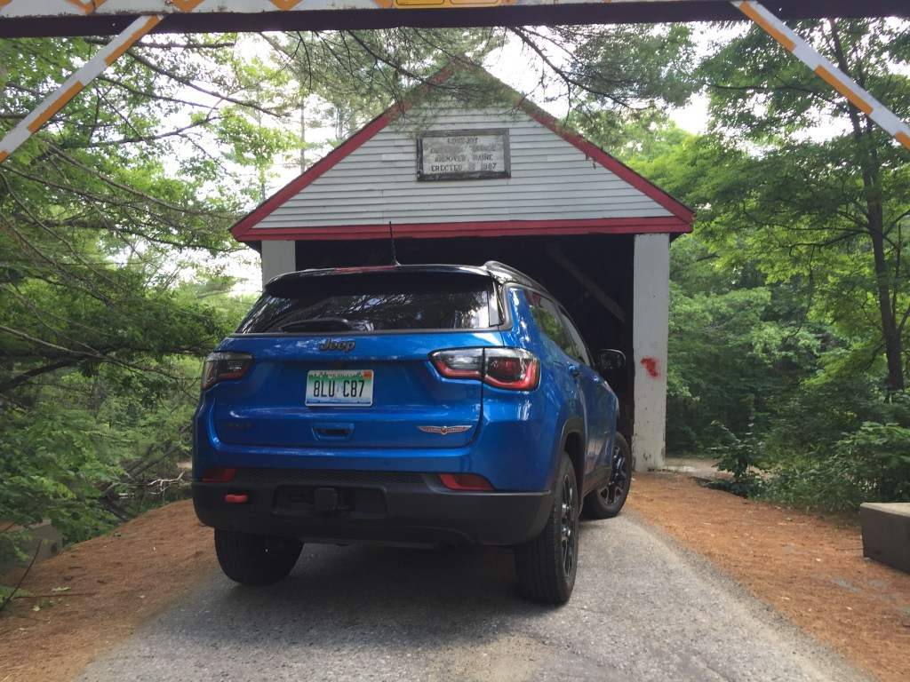 Trailhawk pricing begins at $29,195 but is $38,445 as shown. Photo by Tim Plouff. Location: Andover.
