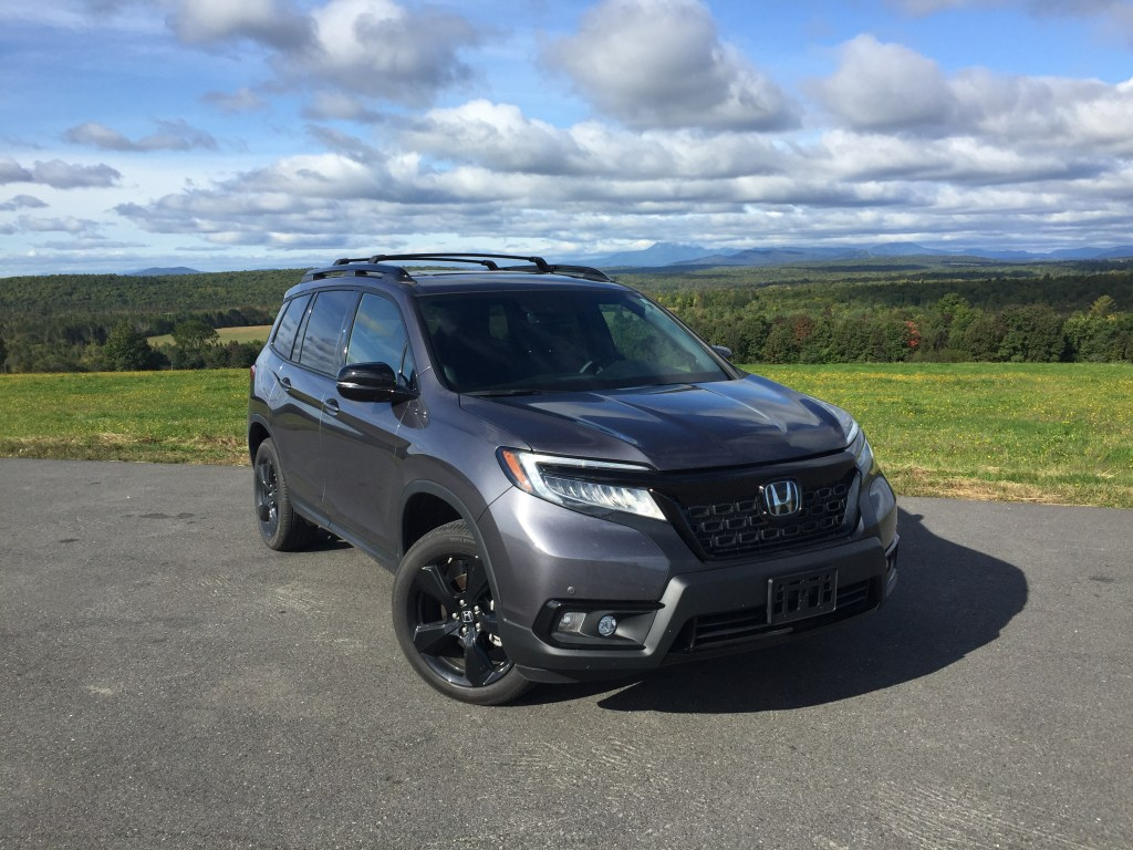 The Honda Passport Elite starts at $33,085 and rises to $45,695 for AWD and all the bells and whistles.