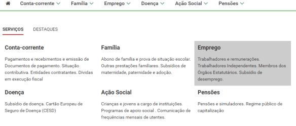 Escalão segurança social