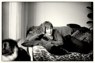 Me and Tiger, circa 2000 (photograph by Kevin Jackson).
