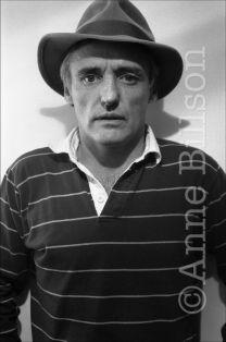 Dennis Hopper, actor & film-maker. London, 1982.