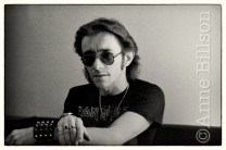 Shaun Hutson, writer. London, 1982.