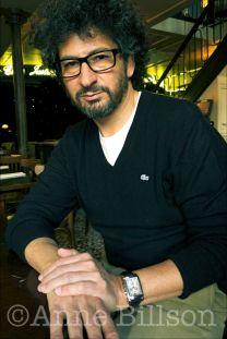 Radu Mihaileanu, film-maker. Paris, 2012.